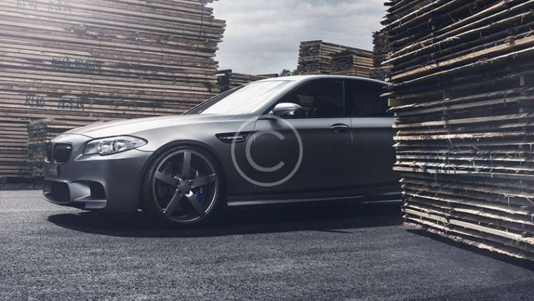 BMW M5 Styling with Lexani Wheels