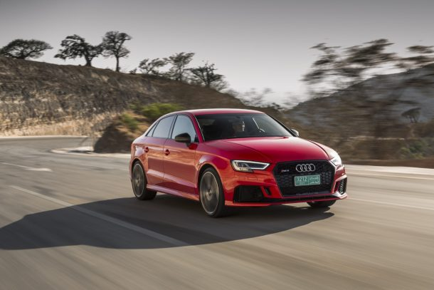 latest automotive news, best new and used cars, find a new car 6b027_2017-Audi-RS3-sedan-610x407 Maybe Quattro Isn't Everything After All – Audi Considers Rear-Wheel-Drive RS Models Audi